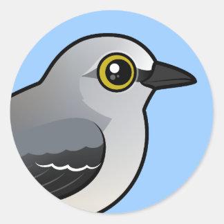 Birdorableの北のマネシツグミ ラウンドシール