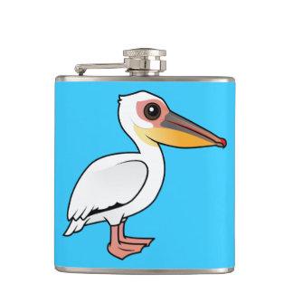 Birdorableの素晴らしいモモイロペリカン フラスク