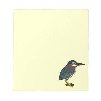 Birdorableの緑の鷲 ノートパッド