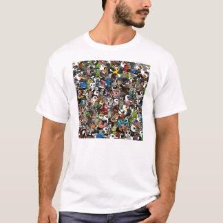 Birdorableの群集 Tシャツ