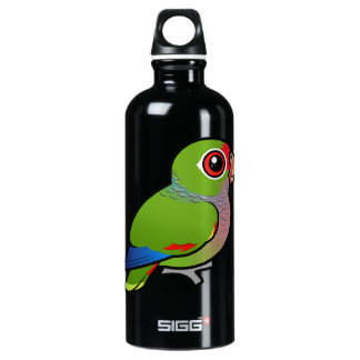 BirdorableのVinaceousオウム ウォーターボトル