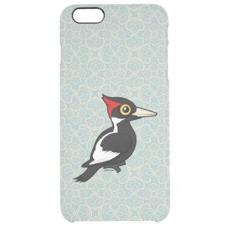 Birdorableはキツツキにアイボリー勘定書を出しました クリア iPhone 6 Plusケース