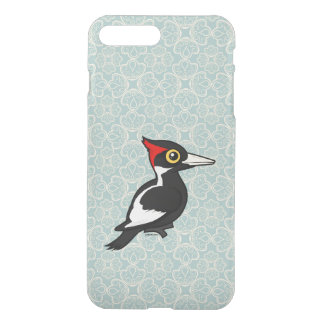 Birdorableはキツツキにアイボリー勘定書を出しました iPhone 8 Plus/7 Plus ケース