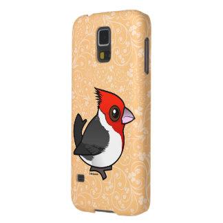 Birdorableは(鳥)ショウジョウコウカンチョウの赤頂点に達しました Galaxy S5 ケース