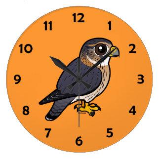 Birdorableマーリン ラージ壁時計