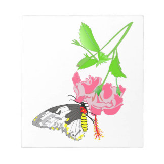 Birdwingの蝶 ノートパッド