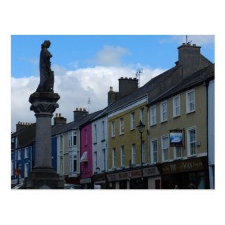 Birr -アイルランドのエリン記念碑の女中 ポストカード