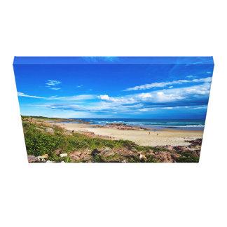 Birubiのビーチ キャンバスプリント