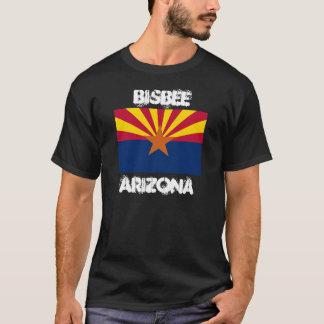 Bisbee、アリゾナの州の旗が付いているアリゾナ Tシャツ