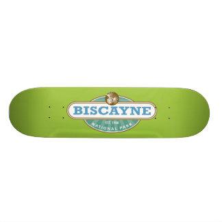 Biscayneの国立公園 18.1cm オールドスクールスケートボードデッキ