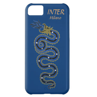 Biscione Nerazzurro、iphone 5の場合(青い) iPhone5Cケース
