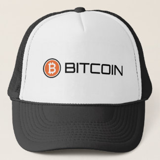 Bitcoinのロゴの網の帽子 キャップ