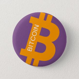 Bitcoinのロゴボタン 缶バッジ
