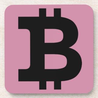 Bitcoinのロゴ コースター