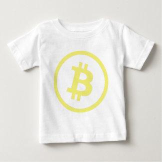 Bitcoinのロゴ ベビーTシャツ