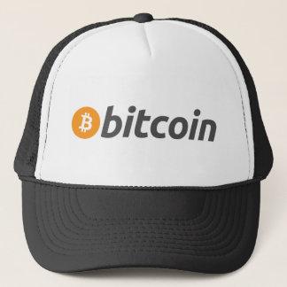 Bitcoinのロゴ + 文字 キャップ