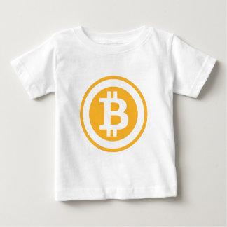 Bitcoinのワイシャツ ベビーTシャツ
