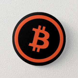 Bitcoinの円形ボタン 缶バッジ