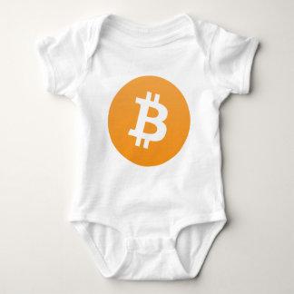Bitcoinの恋人 ベビーボディスーツ