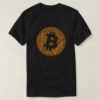 Bitcoinの改革のブロック・チェーンのCyrptoの単語のワイシャツ Tシャツ