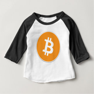 Bitcoinの暗号の通貨- Bitcoinのために…送風します! ベビーTシャツ
