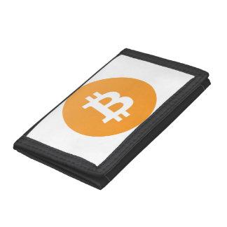 Bitcoinの財布 ナイロン三つ折りウォレット