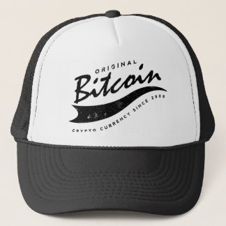 Bitcoinの野球のロゴのデザイン キャップ