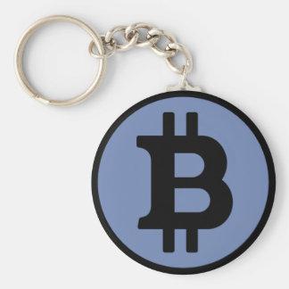 Bitcoinの青Keychain キーホルダー