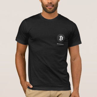 Bitcoinの黒 Tシャツ