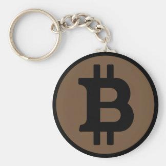 BitcoinブラウンKeychain キーホルダー