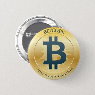 Bitcoinボタン 缶バッジ
