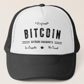 Bitcoin元のSatoshiの暗号のロゴのTシャツ キャップ