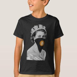Bitcoin女王の強盗 Tシャツ