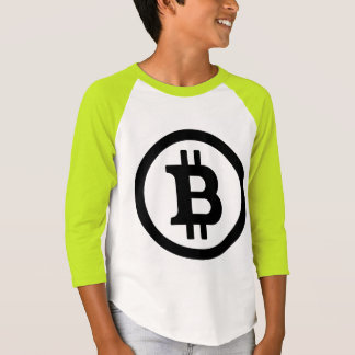 BITCOIN子供のネオンTワイシャツCryptocurrency Geekery Tシャツ