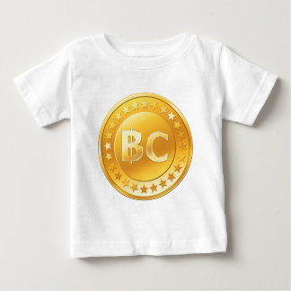 Bitcoin抗夫 ベビーTシャツ