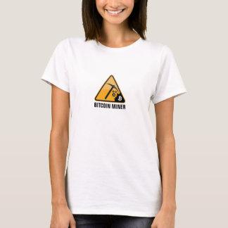 Bitcoin抗夫 Tシャツ