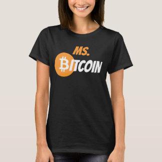 Bitcoin氏のブロック・チェーンのCyrptocurrencyのワイシャツ Tシャツ