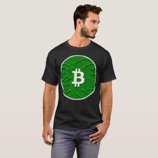 Bitcoin緑のKryptonite CryptocurrencyのTシャツ Tシャツ