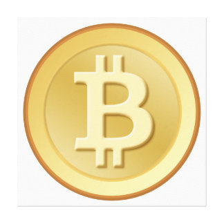 Bitcoin キャンバスプリント