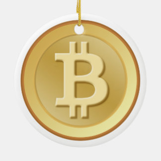 Bitcoin セラミックオーナメント
