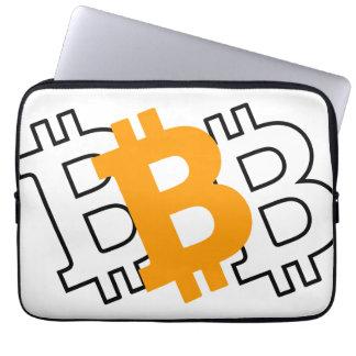Bitcoin -デジタル時代のための事実上の通貨 ラップトップスリーブ
