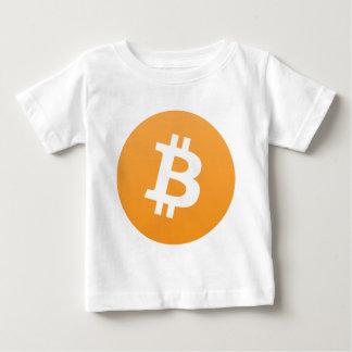 Bitcoin ベビーTシャツ