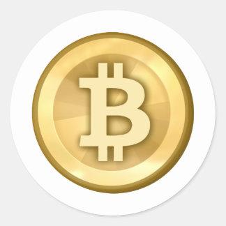 Bitcoin ラウンドシール