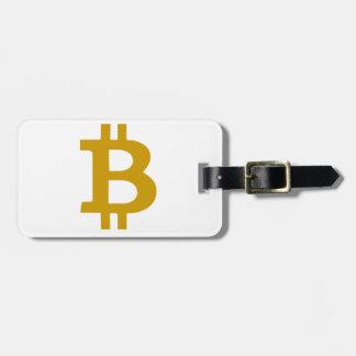 Bitcoin ラゲッジタグ