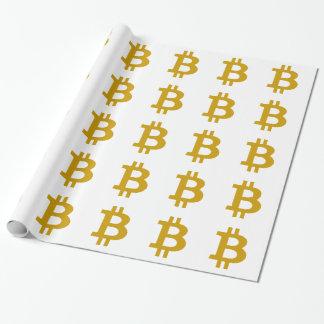 Bitcoin ラッピングペーパー