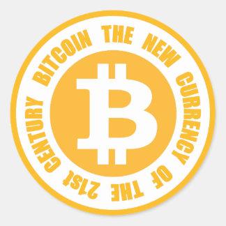 Bitcoin 21世紀の新しい通貨 ラウンドシール