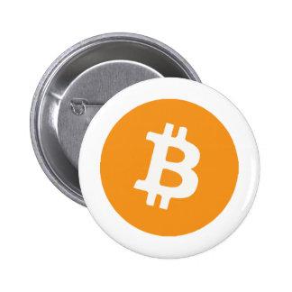 Bitcoin 5.7cm 丸型バッジ