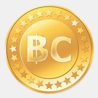 Bitcoin (6/20パック) ラウンドシール