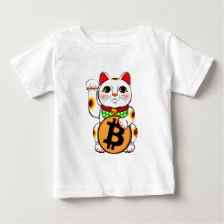 Bitcoin Maneki Nekoの幸運な猫02 ベビーTシャツ