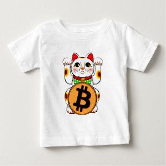 Bitcoin Maneki Nekoの幸運な猫03 ベビーTシャツ